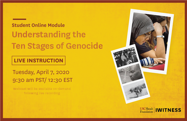 Understanding the Ten Stages of Genocide