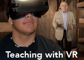 Teaching with VR