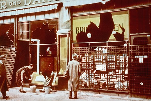 Resources for Kristallnacht | News | IWitness - Education ...